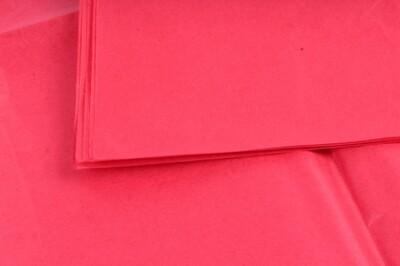 Бумага тишью Красная 50х66 см (10 листов)