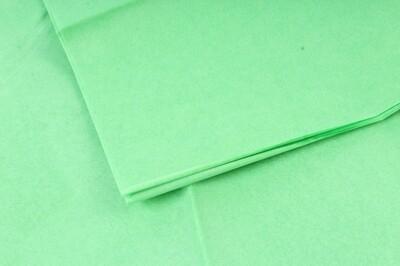 Бумага тишью Зеленое яблоко 50х66 см (10 листов)