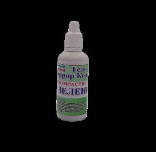 Краситель гелевый Миррор калорс жирорастворимый Зеленый 40 гр.