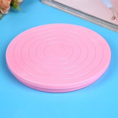 Мини-столик поворотный для декорирования 14 см