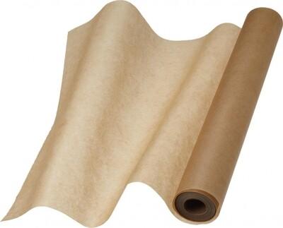 Пергамент коричневый, силиконизированный, 38 см х 8 м