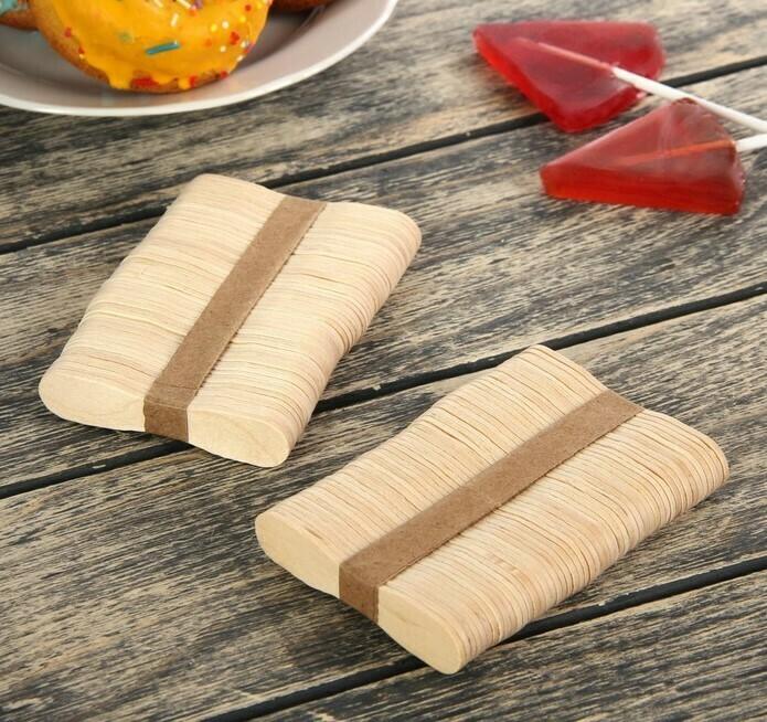 Набор палочек для мороженого, 100 шт. 7.5 х 1.5 см