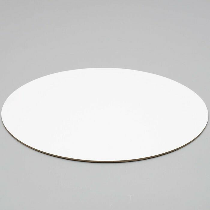 Подложка Белая 3.2мм д24 см.
