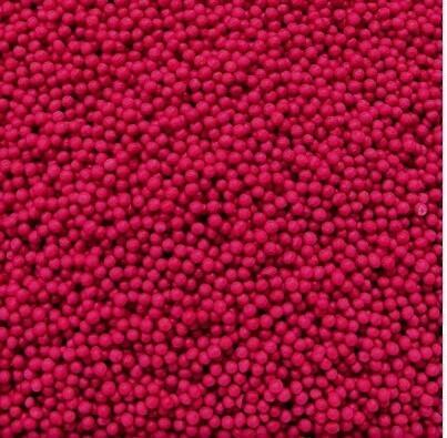 Посыпка шарики вишневые 2мм 100 гр