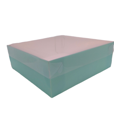 Коробка для зефира премиум Тиффани 20х20х7см