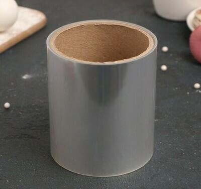 Лента бордюрная для обтяжки тортов 40 мкр × 100 мм × 15 м