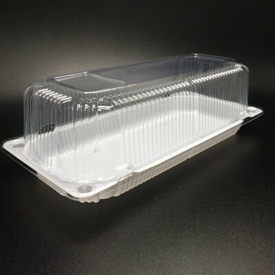 Упаковка для рулета пластиковая  30х10х10 см
