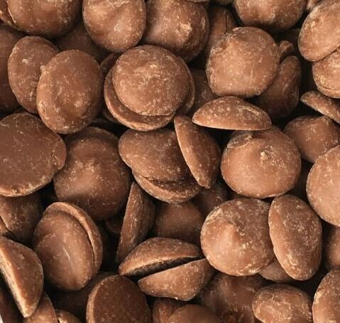 Шоколад молочный  с оттенком карамели, 35.9% какао, Sicao от Barry Callebaut, 200 гр.