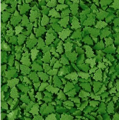 Посыпка Елки зеленые темные 100 гр