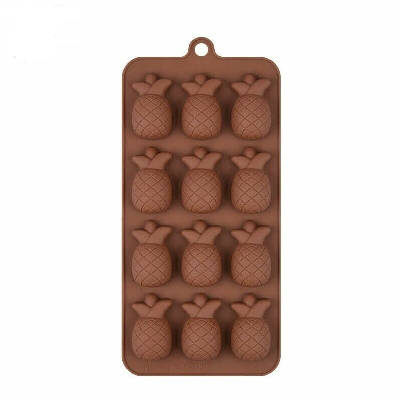 Форма для  шоколада Ананас , 12 ячеек, 22×12×3 см