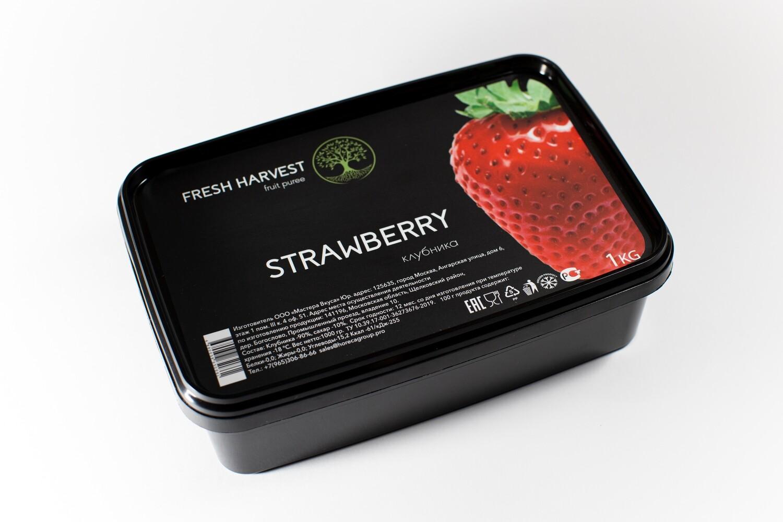 """Пюре замороженное Клубника """"Fresh Harvest"""" 1 кг."""