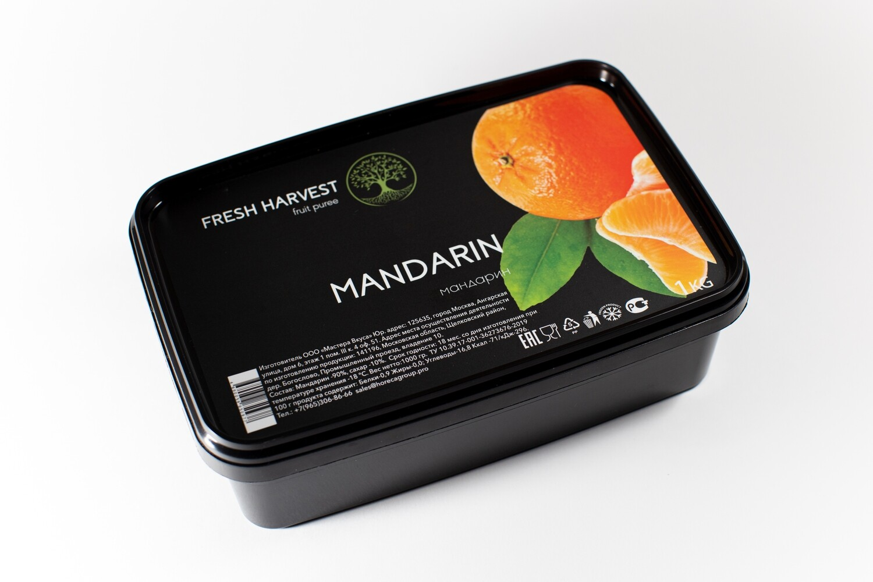 "Пюре замороженное Мандарин ""Fresh Harvest"" 1 кг."