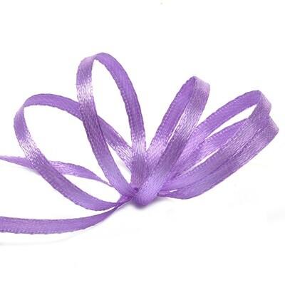 Лента атласная фиолетовая 3 мм.