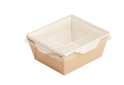 Коробочка для сладостей с прозрачной крышкой.  12.5х11х5,5см 350 мл.