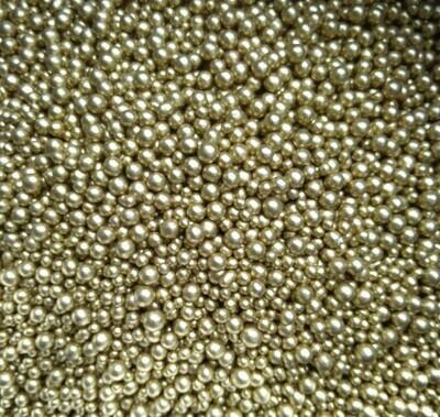 Шарики сахарные бронза Россия. 3-5 мм 50 гр