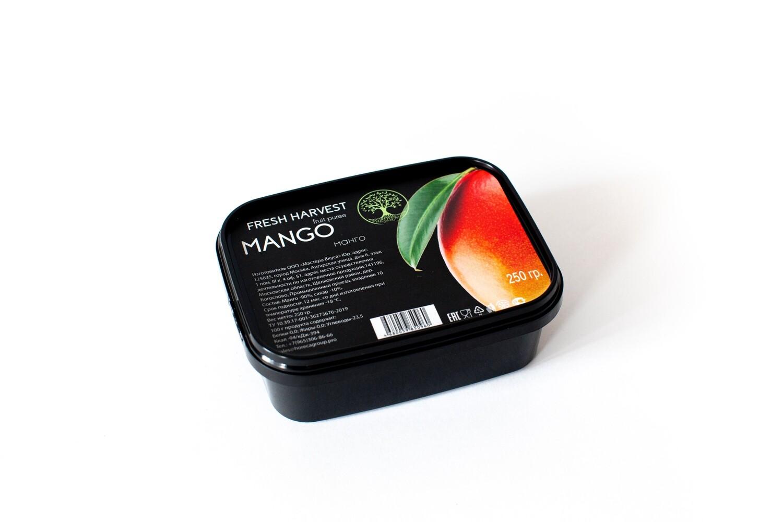 """Мини - пюре замороженное Манго Альфонсо """"Fresh Harvest"""" 200 гр."""