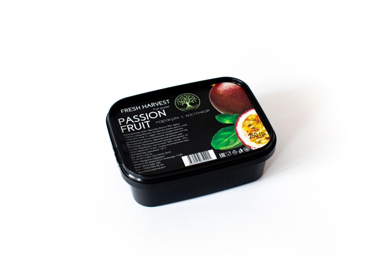 """Мини - пюре замороженное  Маракуйя с косточкой """"Fresh Harvest"""" 200 гр."""