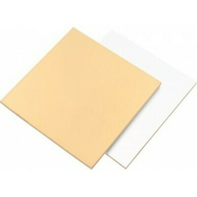 Подложка усиленная двусторонняя золото/белый 1.5мм 22х22