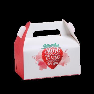 Сундучок для сладкого Sweet клубничка, 16 × 15 × 9 см