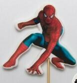"""Топпер сахарный """"Человек-паук"""". Высота 10 см"""