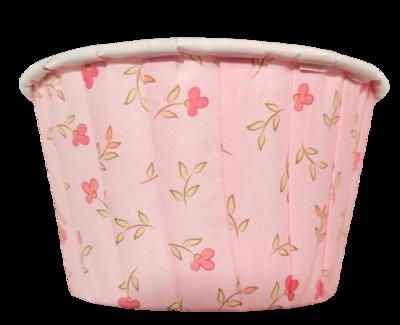 Капсула усиленная Нежно-розовая в цветочек 1 шт