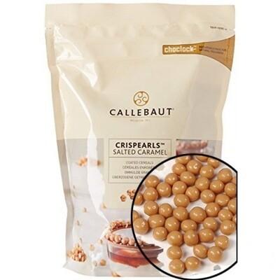 Кранч CALLEBAUT CRISPEARLS соленая карамель 50 гр.