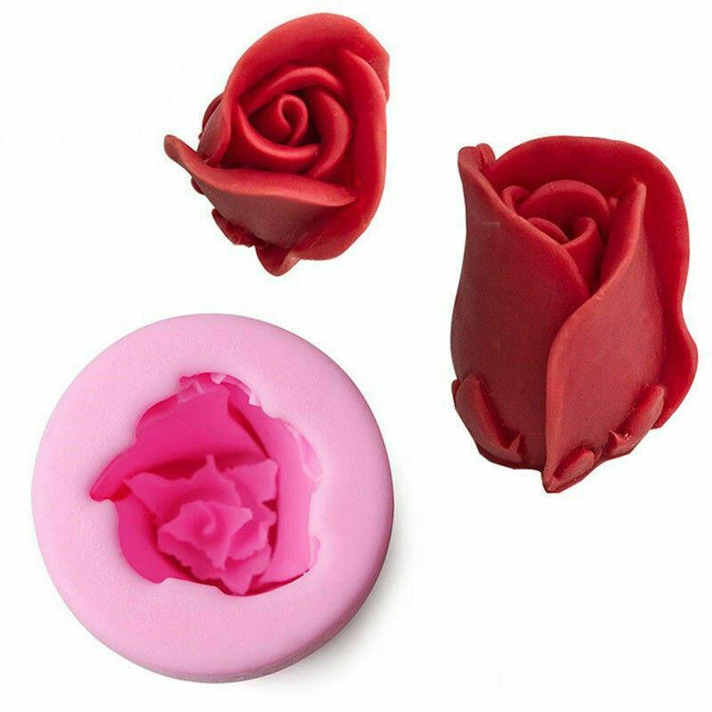 Молд силиконовый Бутон розы большой