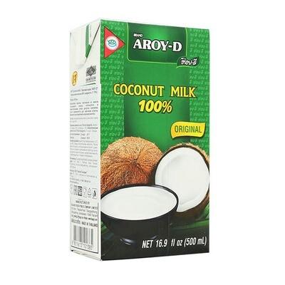 Кокосовое молоко AROY-D, 500 мл