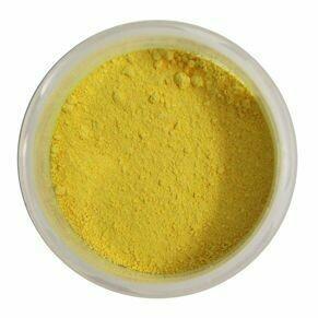 "Краситель сухой, Цветочная пыльца ""Орнамент"" Желтый желток 5 гр."
