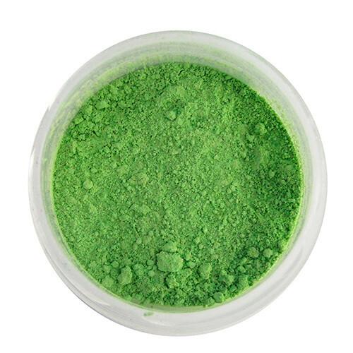 """Краситель сухой, Цветочная пыльца """"Орнамент"""" Зеленый 5 гр."""