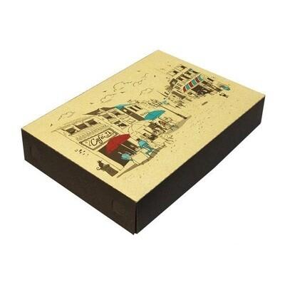 Коробка для пирожных на 800 гр. 320х230х60