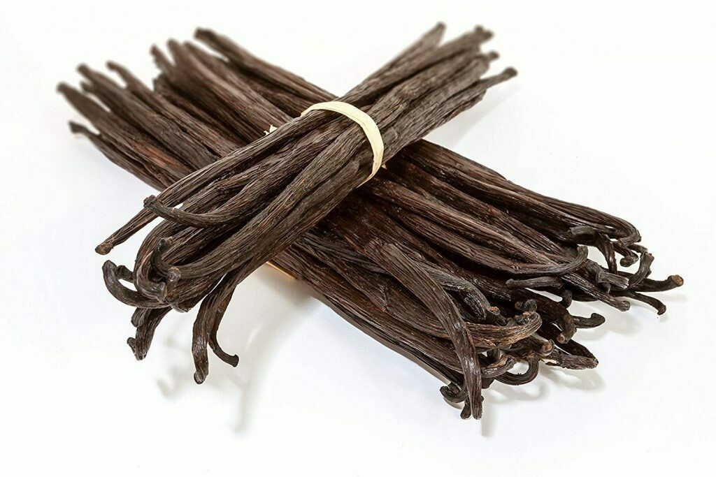 Стручок ванили 1 шт. Мадагаскар. 3.5 - 4 гр.