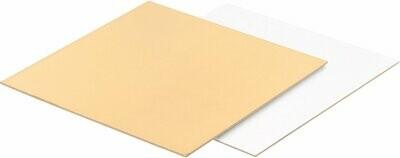 Подложка усиленная двусторонняя золото/белый 3.2мм 30х30