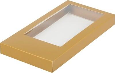 Коробка для плитки шоколада крафт 18х9х1.7 см
