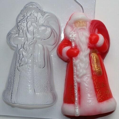 Форма пластиковая  Дед Мороз