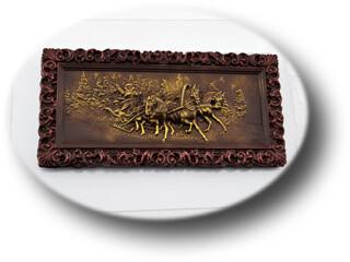 Форма для шоколада Плитка Русская Зима