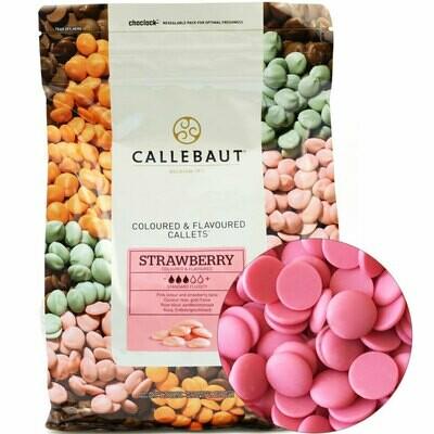 Шоколад Barry Callebaut розовый со вкусом клубники 200 гр