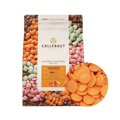 Шоколад Barry Callebaut оранжевый со вкусом апельсина 200 гр
