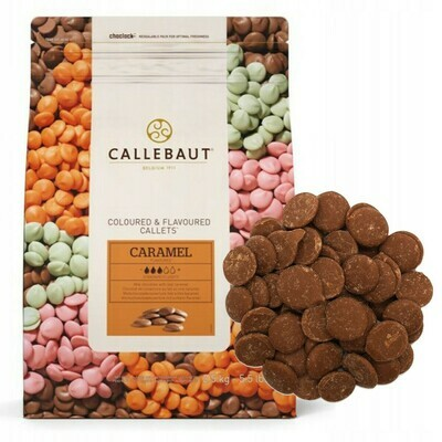 Шоколад молочный Barry Callebaut cо вкусом карамели 200 гр