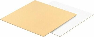 Подложка усиленная двусторонняя золото/белый 1.5мм 15х15