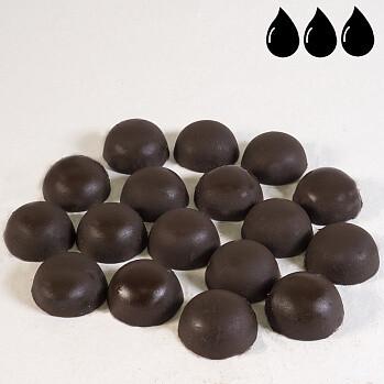Горький шоколад без добавления сахара 72% какао 200 гр.