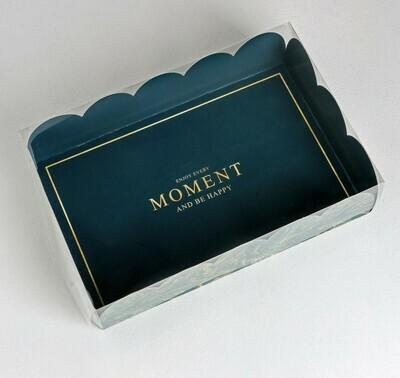 Коробка с пластиковой крышкой «МОМЕНТ», 20 × 30 × 8 см