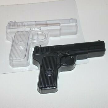 Форма для шоколада пластиковая  Пистолет