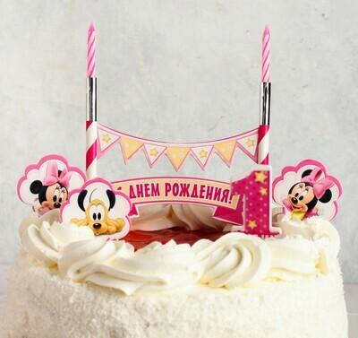 Свеча в торт Дисней