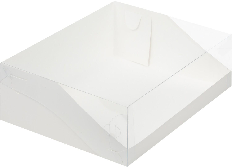 Коробка для торта Цифра. 310*235*100 (белая)