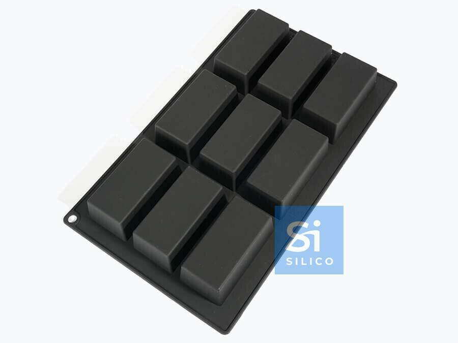 Форма для выпечки Silico,  Прямоугольники 80х40 мм»