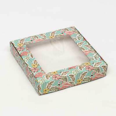 Коробочка для печенья «РАЙ», 16 х 16 х 3 см