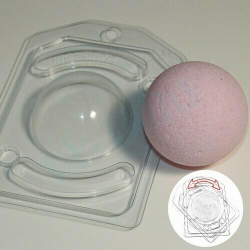 Пластиковая форма для шоколада Полусфера D 60 мм