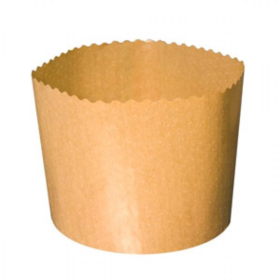 Форма для кулича d90, h90мм Эко без рисунка (200 гр.) 5 шт.