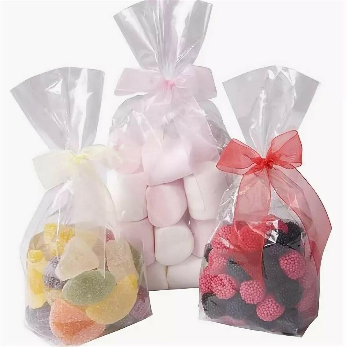 Пакет для сладостей/куличей 15х28 (с донной складкой) 5 шт.